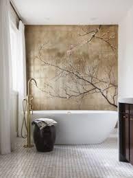 Wallpapered Bathrooms Ideas 65 Best Bathroom Wallpaper Images On Pinterest Bathroom