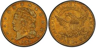 Gold Coins Found In California Backyard 1822 Half Eagle A Coin To Make Collectors Drool Goes On View