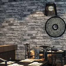 home decor wallpaper self adhesive wall stickers vintage brick