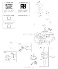 briggs and stratton 111p02 0116 f1 parts diagrams