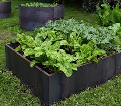 Corten Steel Planter by Corten Steel 4 Foot By 4 Foot Planter Bed By Nice Planter Llc With