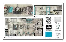 Hand Rendered Floor Plan Hand Rendered Floor Plan Portfolio By Nicole Elsholz At