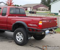 2004 toyota tacoma rear bumper replacement tacoma rear bumper with built in class 3 hitch pirate4x4 com