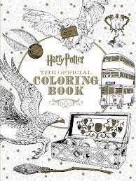 harry potter official coloring book scholastic paperback