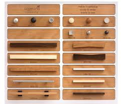 hardware for walnut cabinets custom knobs drawer pulls vermont woods studios