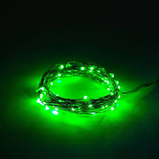 green led net lights battery operated led fairy lights waterproof with green micro led