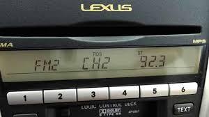lexus rx300 cd changer cartridge audio
