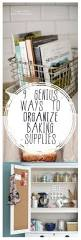 Kitchen Organization Hacks best 25 baking organization ideas on pinterest baking storage