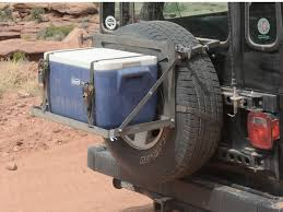 jeep wrangler jk tires jeep excursion rack spare tire mount retrofit offroad
