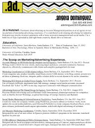 sample resume for marketing coordinator advertising agency sample resume haadyaooverbayresort com
