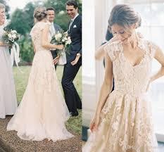 vintage lace wedding dresses vintage lace wedding dresses a line bohemian bridal dresses