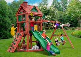 Swing Set For Backyard by Home Swing Set Paradise
