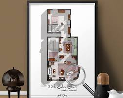 Tv Floor Plans Tv Floor Plans Home Portraits And More By Drawhouse On Etsy