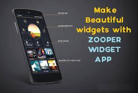 beautiful widgets pro apk zooper widget add beautiful widgets to homescreen