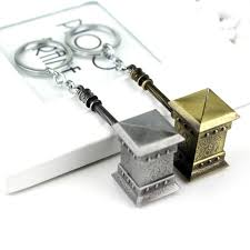wholesale jewelry thor hammer world of war keychain crafts keyring