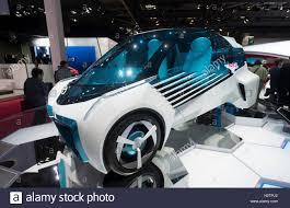 hydrogen fuel cell car toyota toyota fcv plus hydrogen fuel cell concept car at paris motor show