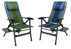 Folding Directors Chair With Side Table The Most Elegant Folding Camp Chair With Side Table Regarding The