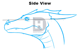 how to draw dragon heads step by step drawing guide by