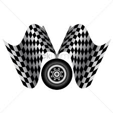 Images Of Racing Flags Racing Flags With Tyre Vector Image 1444810 Stockunlimited