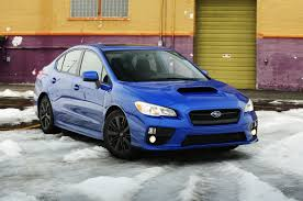 blue subaru gold rims 2015 subaru wrx premium is the sti the better rex