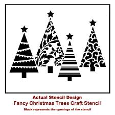 stenciling quick and easy christmas wall decor stencil stories