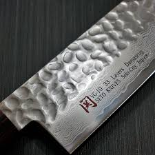 Folded Steel Kitchen Knives Amazon Com Seto Japanese Chef Knives Damascus Forged Steel From