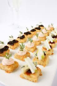food canapes canapé the fare