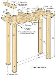 best 25 pergola plans ideas on pergola diy pergola