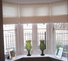 top 15 bay window roller blinds curtain ideas