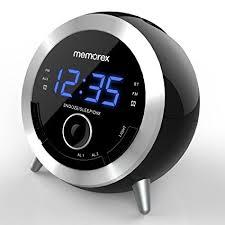 clock radio with night light amazon com alarm clock radio memorex 10 in 1 clock radio digital