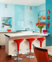 Small Kitchen With Island Design Small Kitchen With An Island Round Glass Table Rich Wooden Kitchen