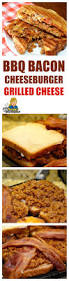 how to make best bbq bacon cheeseburger grilled cheese