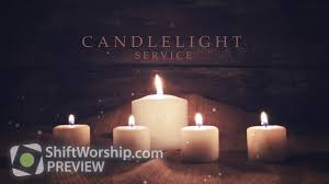 advent candles candlelight service shift worship