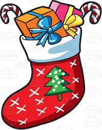 christmas socks a christmas sock with presents socks clip and christmas tree
