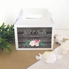 personalized boxes personalized floral garden mini gable boxes set of 12 garden