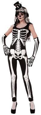 skeleton costume womens forum novelties women s skeleton jumpsuit clothing