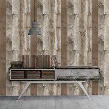 tempaper wallpaper repurposed wood weathered textured self adhesive wallpaper by