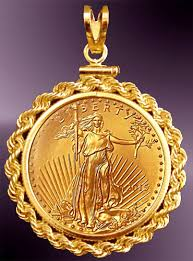 rope necklace pendant images 10 dollar gold eagle gold coin rope pendant prr8 10e jpg