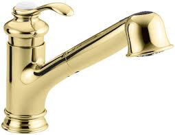 Polished Brass Kitchen Faucet by Kohler K 12177 Kitchen Faucet Build Com