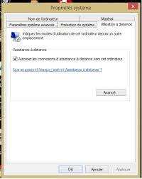 activer bureau à distance impossible d activer le bureau à distance sous windows 8 1