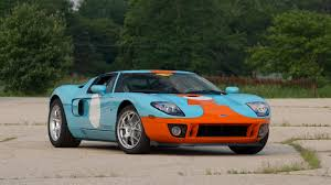 gulf racing mustang 2006 ford gt heritage edition f151 monterey 2013