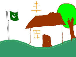 Pakistane Flag File Child Drawing Of Pakistani Flag Gif Wikimedia Commons