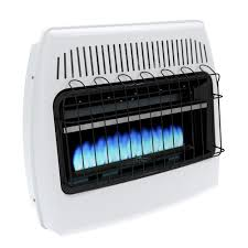 propane heater with fan dyna glo 30 000 btu blue flame vent free lp wall heater bf30pmdg