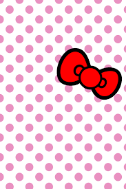 hello bows hellokitty bow iphone wallpaper by will yen on deviantart
