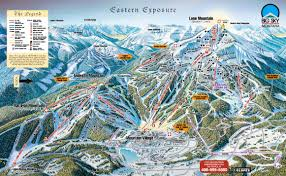 Utah Ski Resort Map by Big Sky Trail Map Ski Butlers