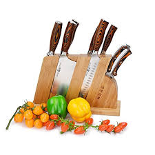 Honing Kitchen Knives Kitchen Knife Set With Wooden Block 8 Piece Chinese Chef U0027s