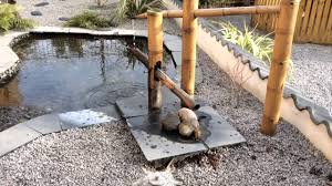 japanese bamboo water fountain sound images