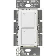 Defiant Timers Dimmers Switches U0026 by Lutron Maestro Companion Fan And Light Control White Ma Alfq35