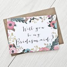 bridesmaid cards will you be my bridesmaid card by here s to us