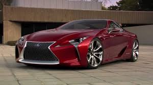 lexus lf lc blue concept 2012 lexus lf lc concept built by five axis youtube